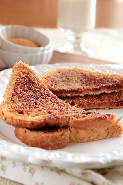cinnamon sugar toast