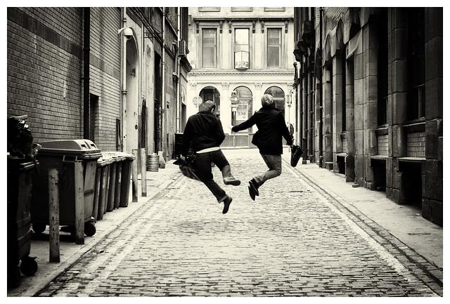 hop, skip then jump