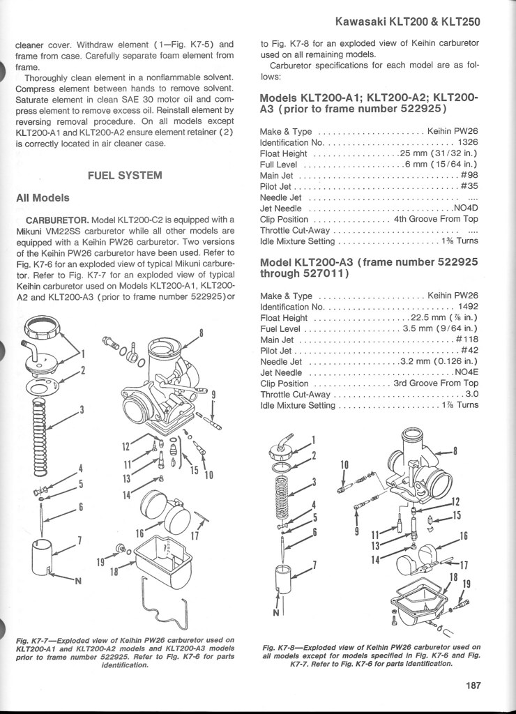 Kawasaki Klt 110 Service Manual