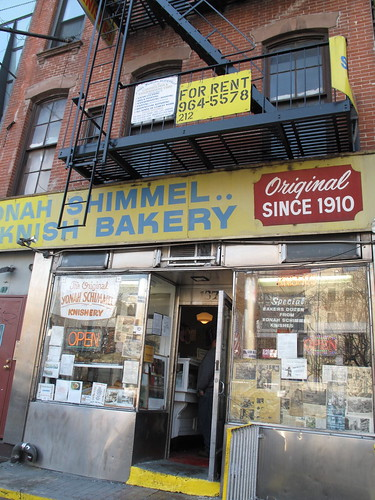 Yonah Schimmel Knishery, NYC