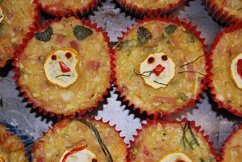 Zucchini slice/muffins