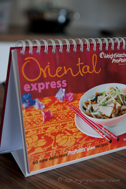 Weight Watchers Oriental Express recipe book