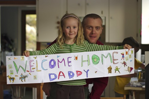 Welcome Home Daddy!