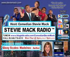 STEVIE MACK RADIO™ - Ginny  Scales - Medeiros