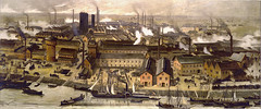 BASF Ludwigshafen site 1881 (BASF - The Chemical Company) Tags: history corporate chemistry geschichte basf industrialization chemicalcompany industrialisierung unternehmensgeschichte