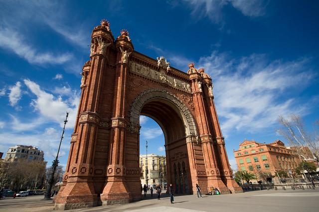 Arc de Triomf - Barcelone