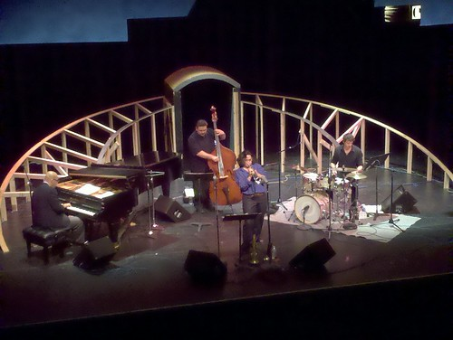 Rebecca Coupe Franks Quartet From The Perch at the Seville Theatre San Diego City College