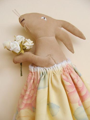 girl - bunny