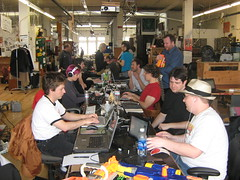 Ludum Dare Jam at Noisebridge