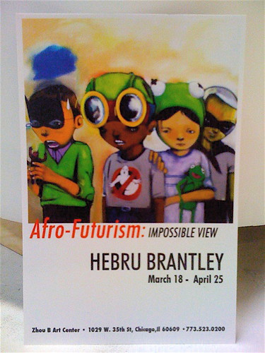 HEBRU 'Afro-Futurism' by billy craven