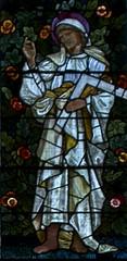 St Thomas (IanAWood) Tags: london raw stainedglass williammorris putney allsaintschurch churchwindows churchofengland morrisco d3x siredwardburnejones walkingwithmynikon nikkorpce24f35 surreychurches