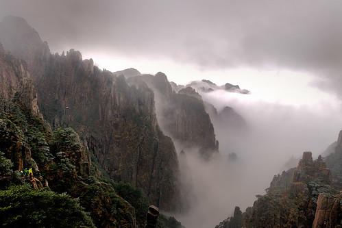 黃山-排雲亭(Huangshan) by 號獃