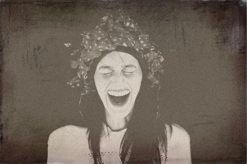 Laughing by BeWakeful, on Flickr