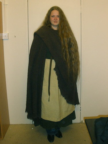 Costume fitting for Camelot S1 reshoot (March 2011)
