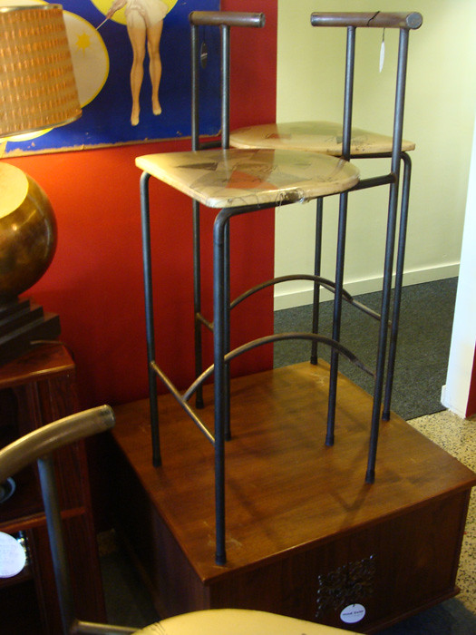 Vintage bar stools c. 1950s