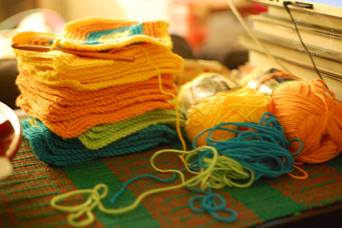 happy thing: making time for crocheting