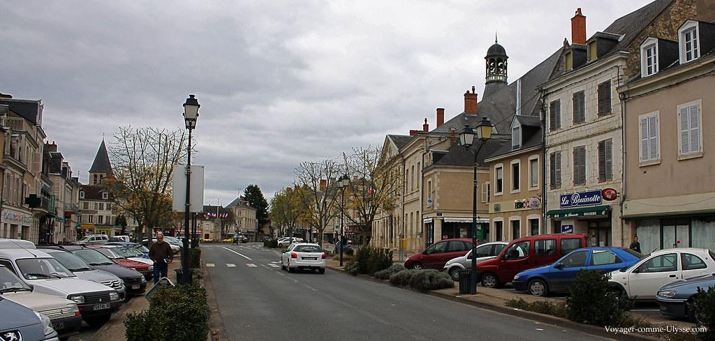 Rue principale de la ville
