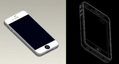 rumored iPhone5 design...