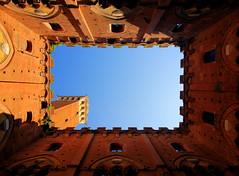 Tower of Mangia (filippo rome) Tags: italy italia tuscany siena toscana hdr mangia torredelmangia towerofmangia