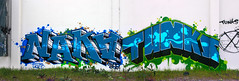 Naka, Tunks (funkandjazz) Tags: california graffiti eastbay naka 2sr5 tunks osd