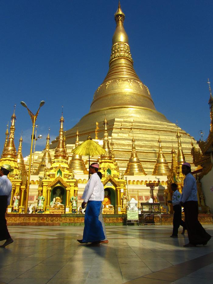 Shwedagon Pagoda - Yangon, Burma