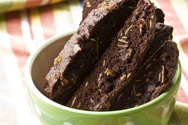 Aztec Chocolate Biscotti