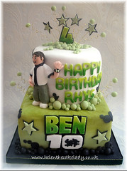 Ben 10 birthday cake (Helen The Cake Lady) Tags: birthday cake ben 10