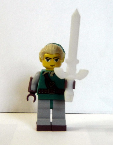 Custom minifig Master Sword Prototype