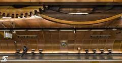 Tired (A.G. Photographe) Tags: paris france subway nikon metro métro arts ag nikkor français hdr parisian anto photographe xiii undergroud parisien métiers 2470mm28 d700 antoxiii hdr5raw agphotographe