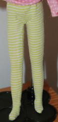 Blythe leggings repurposed undies