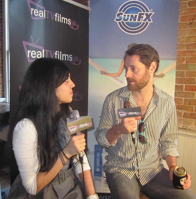 Ryan Holmes, Hootsuite CEO, SunFX Platinum Sponsor, SXSW 2011, Social Media Lodge, Maple Leaf Digital Lounge