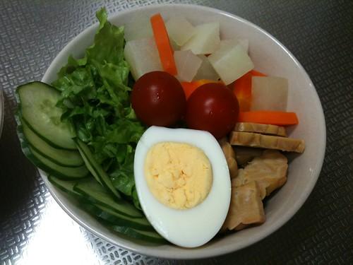 朝食サラダ(2011/3/23)