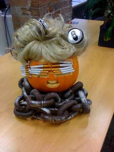 Lady Gaga Telephone Pumpkin