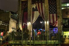 Your True Colors (Terry G Alexander) Tags: party water bar night sanantonio river texas walk flag american nite hdr highdynamicrange riverwalk getrdun