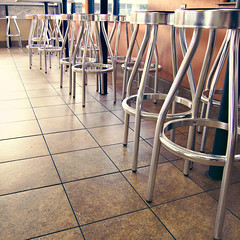 Breaky (GioPhotos) Tags: restaurant chairs streetscene brekfast breaky