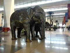 Welcome Area Delhi T3 Departure IGI Airport