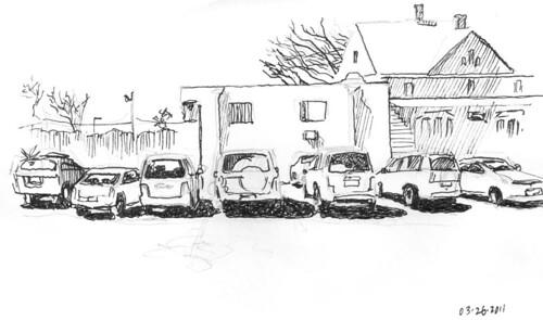 Dance Studio Parking Lot