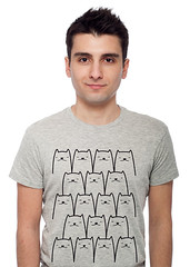 All My Cats T-Shirt (j_s_williamson) Tags: cats cute fashion cat design all top tshirt kittens tee geeky illustraion