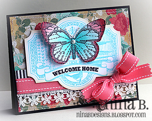 Welcome Home Butterfly