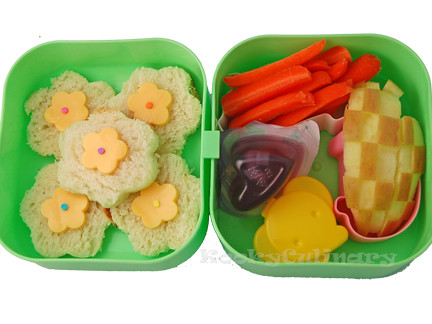 Bento #138 - Spring is almost here bento