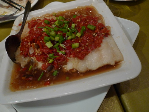 Spicy fish at Q-Tea