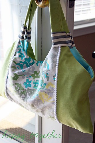 recycling ideas: a springy tote tutorial