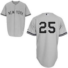 Youth-New York Yankees #25 Mark Teixeira Grey Jersey (Terasa2008) Tags: jersey  cheapjerseyswholesale cheapmlbjerseys mlbjerseysfromchina mlbjerseysforsale kidsmlbjerseys
