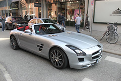 First SLS Roadster (Tom Wolf | Photography) Tags: new test first prototype cabrio mule neu sls amg erlknig roadster cabriolet worldcars