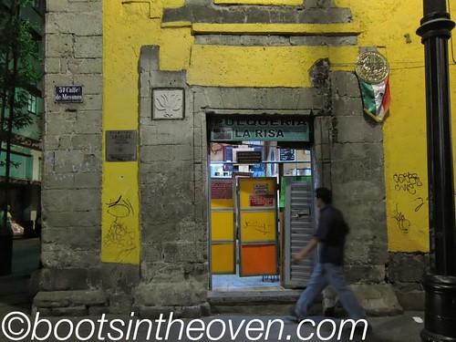 La Risa, an old-school pulqueria