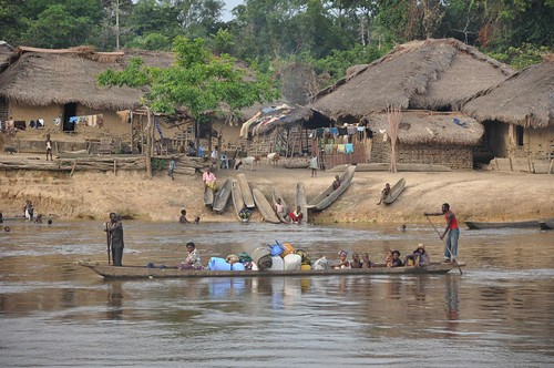Village on the River bank