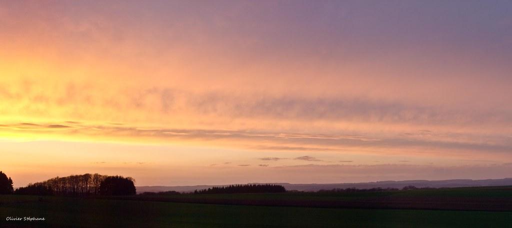 coucher de soleil luxembourgeois laaaa :-) 5589529269_5059b32369_b