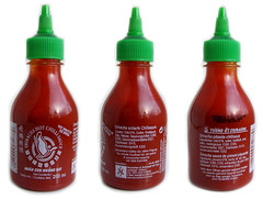 Flying Goose Sriracha sauce, regular.