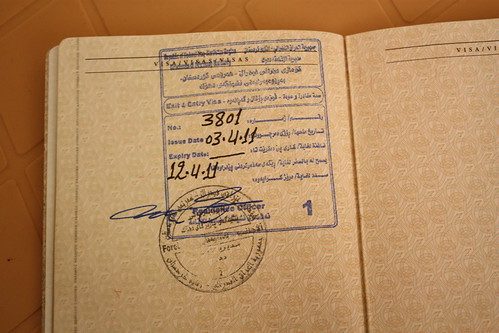 Kurdistan visa by wgauthier, on Flickr