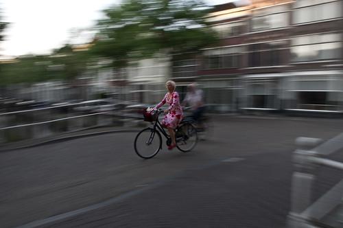 Binnenstad Delft - Bloemig by Sanne van den Heuvel